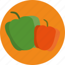 food, pepper icon