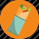 food, tortilla icon