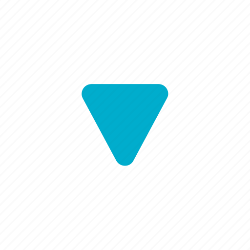 arrow, direction, down, download, level down, move icon