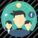 advertising, communication, human, marketing, seo, social, user