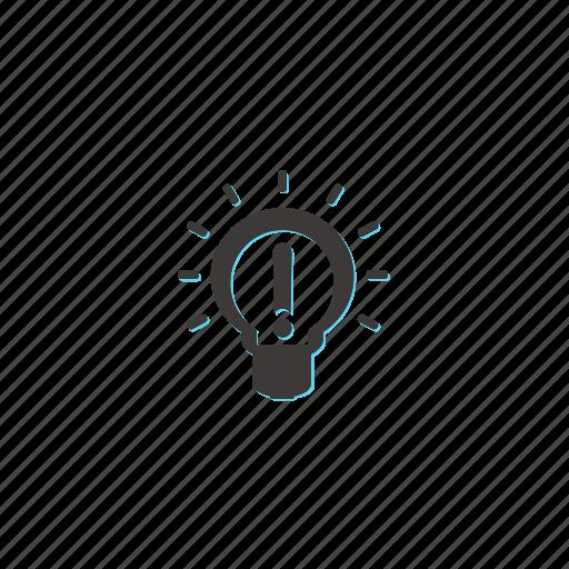 creative, design, idea, internet, lamp, light, web icon