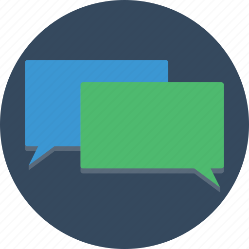 bubbles, chat, communicate, conversation, sms, talk, text icon