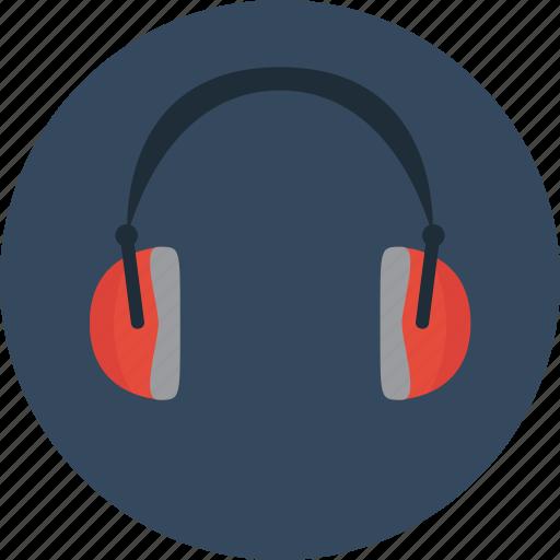 ears, headphones, listen, music icon