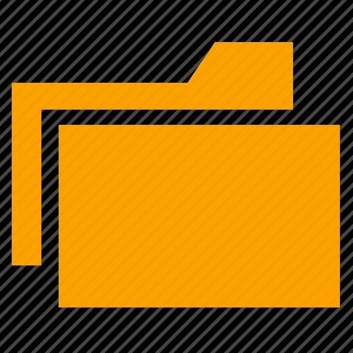 document, extension, file, folder, folders, format, open icon