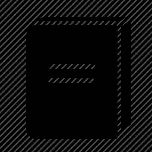 book, paper, print icon