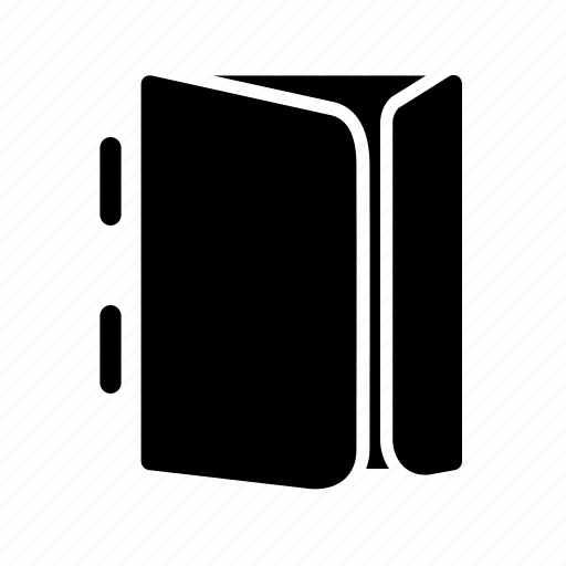 binder, folder, paper, print, self icon
