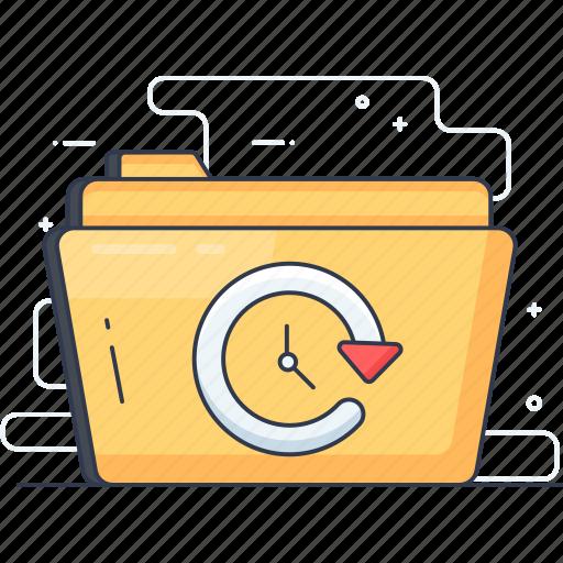 data reload, data sync, refresh, restore folder, update icon