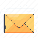 communication, correspondence, email, envelope, letter, message, text icon