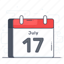 agenda, calendar, date, event, schedule icon