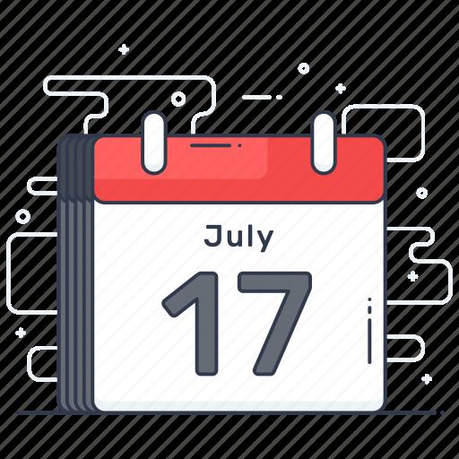 agenda, calendar, date, event, schedule icon