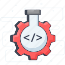 automation, lab optimization, lab research, lab testing, testing icon