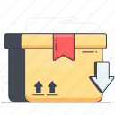 delivery box, logistics delivery, package delivery, parcel delivery, parcel shipment icon