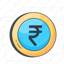 asset, coin, currency, international currency, money icon