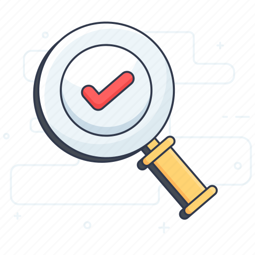 audit, find, keyword exploration, verified search, verify interface icon
