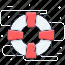 help, life belt, life preserve, life saver, lifebuoy icon