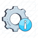 configuration, gears, options, process, setting icon
