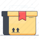 box, delivery box, logistics, package, parcel, parcel delicate, safe delivery icon