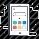 cellphone, cellular phone, phone, smartphone, smartphone communication icon