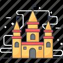 architecture, building, castle, disney, infrastructure icon