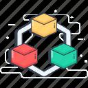 3d animation, 3d cad, 3d cubes, 3d design, 3d model, 3d modeling icon