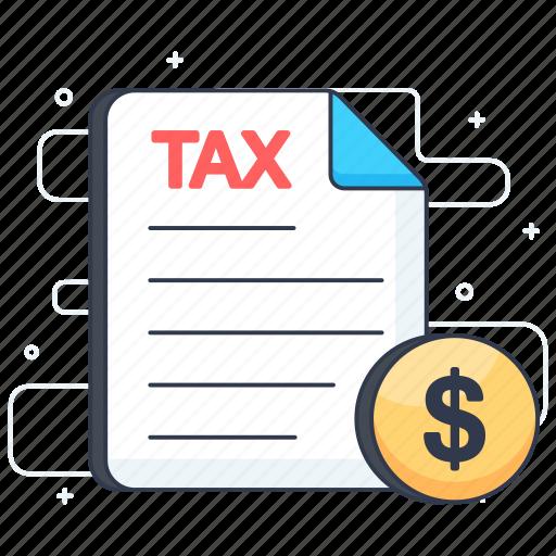 income tax, pay tax, tax document, tax file, tax form icon