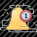 alert, bell, news alert, notification, subscription icon
