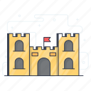 building, city hall, hotel, house, inn, motel icon