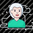 elder, old male, old man, senior citizen, senior person icon