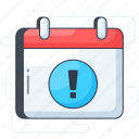 alert, attention, error, exclamation, warning icon