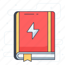 book, booklet, guide book, handbook icon