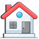 accommodation, cottage, home, house, hut, shelter icon