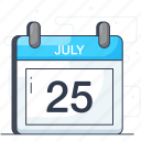 calendar, daybook, event planner, reminder, schedule, yearbook icon