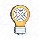 challenge, entanglement, labyrinth, maze, strategy icon