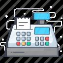 card payment, cash desk, cash register, cash till, pos icon