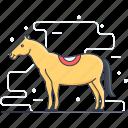 animal, creature, horse, mammal, mule icon