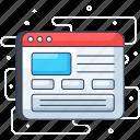 web design, web interface, web layout, web mockup, web template, webpage, website icon