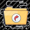 document share, folder share, send folder, share, shortcut icon