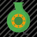 centrifugal, equipment, fluid, mechanical, pump, rotate