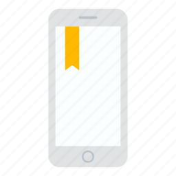 bookmark, fav, favorite, iphone, phone icon