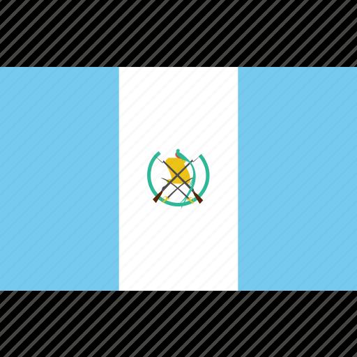 bandera, escudo, flag, guatemala, latina, latino icon