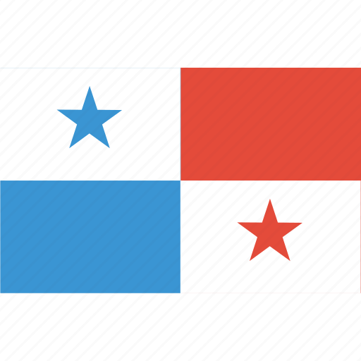 bandera, escudo, flag, latina, latino, panama icon