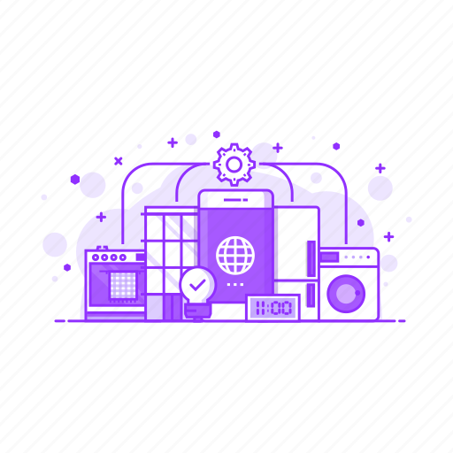 communication, connection, internet, mobile, network, things icon