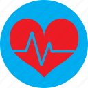 ecg, ekg, heart, heart rate, pulse icon