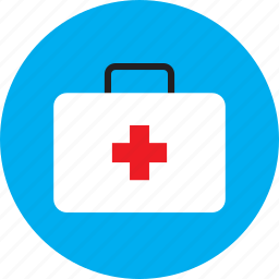 emergency, first aid kit, healthcare, medical, medicine icon