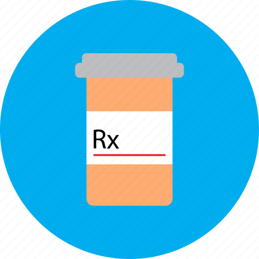 drugs, medical, medication, medicine, pharmacy, pill bottle, prescription icon