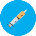 injection, medical, shot, syringe, vaccine icon