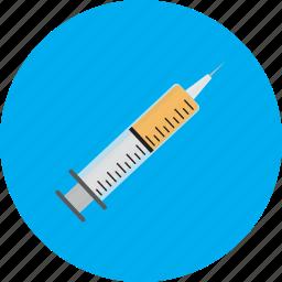 injection, medical, shot, syringe, vaccine icon
