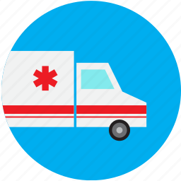 ambulance, emergency, ems, healthcare, hospital, medical, transportation icon