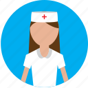 female, female nurse, hospital, medical, nurse icon