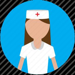 female, female nurse, hospital, medical, nurse icon